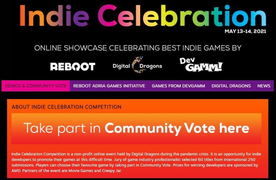 Digital Dragons Indie Celebration 2021 event