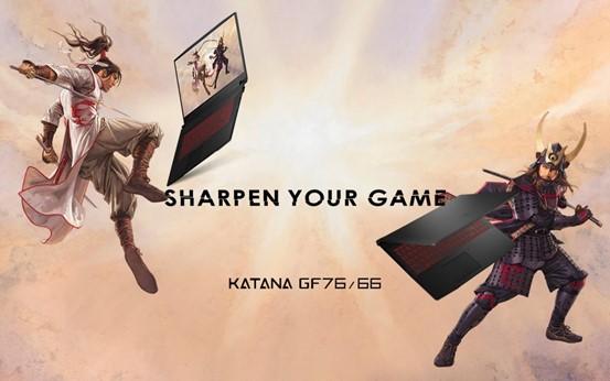 MSI Katana GF76/66 laptop