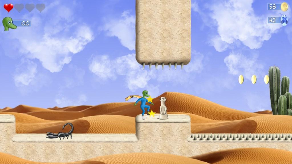Snake Man's Adventure gameplay