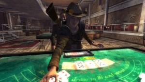 Blackjack in Sci-fi game Fallout New Vegas