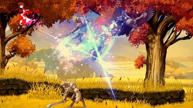 Lost Epic combat artwork