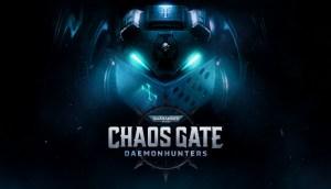 Warhammer Daemonhunters Chaos Gate logo