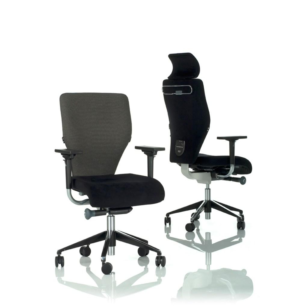 Orangebox X10 Office Task Chair in black