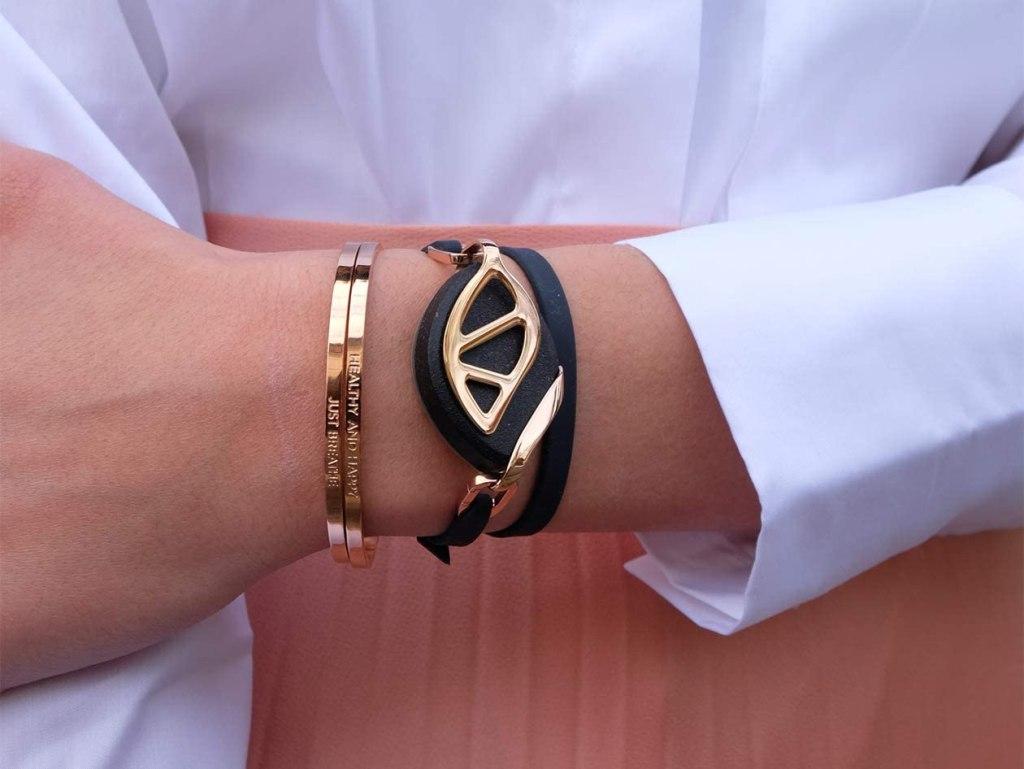 Smart jewelry - the Bellabeat Leaf.