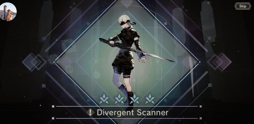NieR Re [in] carnation Divergent Scanner