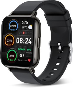Glory Fit SmartWatch powered on