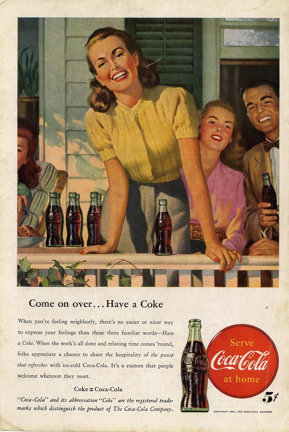 The American Way Of Life : american, Coca-Cola, Advertising,, American, Life,, Mullen, Archive