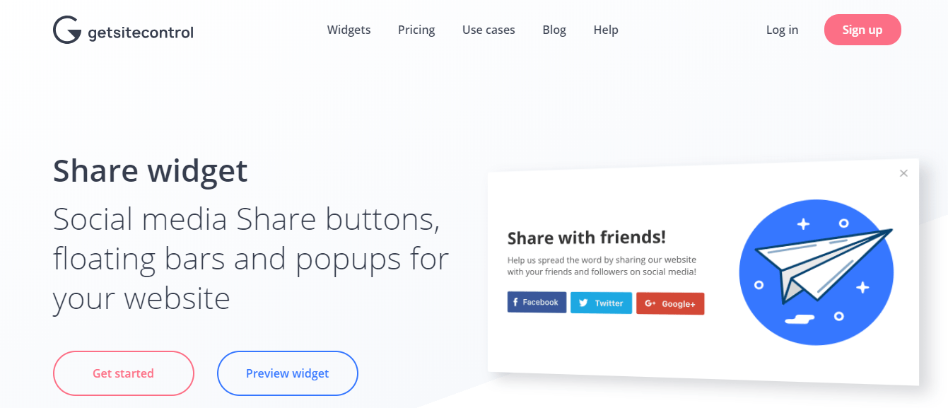 5 Best social share buttons for blogger in 2019