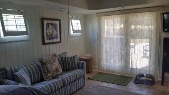 Sliding Wovenwood Door Treatment