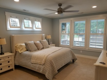 Plantation Shutter Bedroom