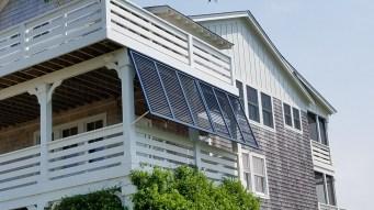 Aluminum Porch End Shutters