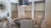 Roman Shades - Breakfast Area