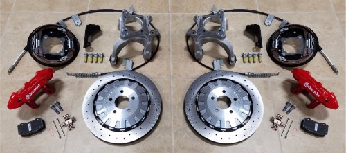 small resolution of purchase the ft 500 shelby gt 350r brembo four wheel brake conversion kit for 2015 2016 or 2017 mustang along with a set of four project 6gr wheels and