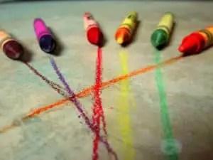 toddler fun crayons