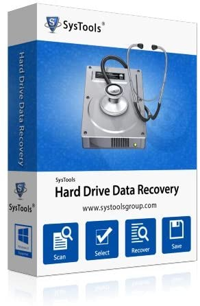 SysTools Hard Drive Data Recovery Crack v16.4.0 + Serial Download