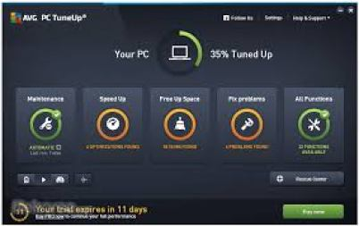 AVG PC TuneUp 19.1.1209.0 Crack With Activation Key Free Download 2019