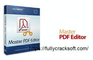 Master PDF Editor 5.7.31 Crack With Registration Code (Latest) 2021