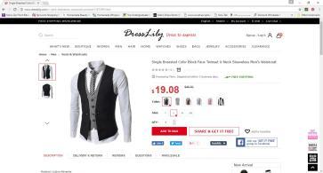 dresslily-vest
