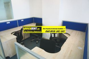 Furnished Office in Time Tower 005