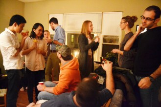 January 16: gathering for our dear friend Lori