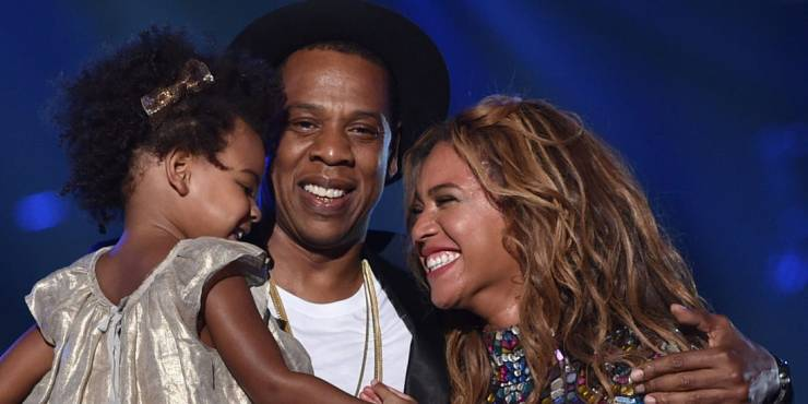 Jay Z and Family