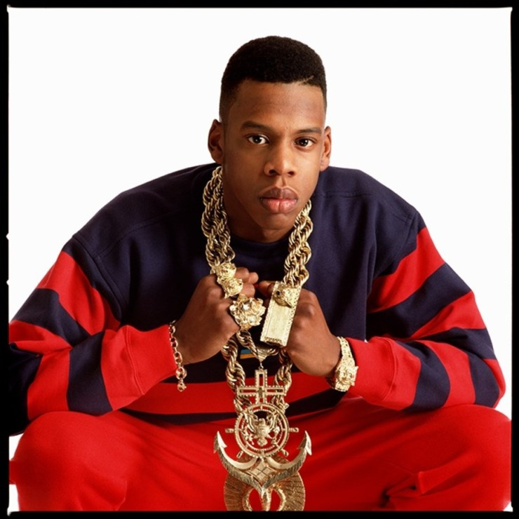 Picture of Jay z in 1988