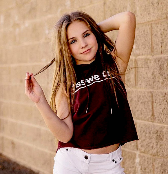 Piper Rockelle velvet shirt