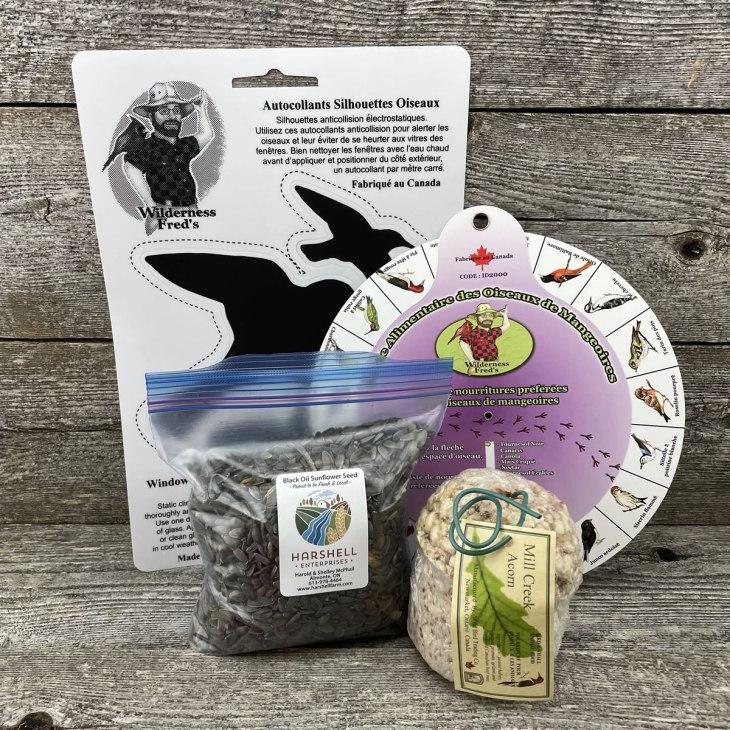 Backyard birding kit
