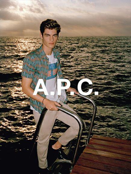 A.P.C.デニムフォーカスイベント男性イメージ