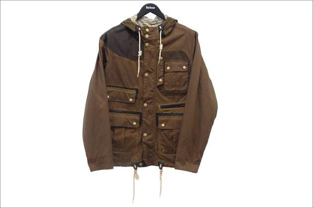 Barbour新ラインデザインジャケット