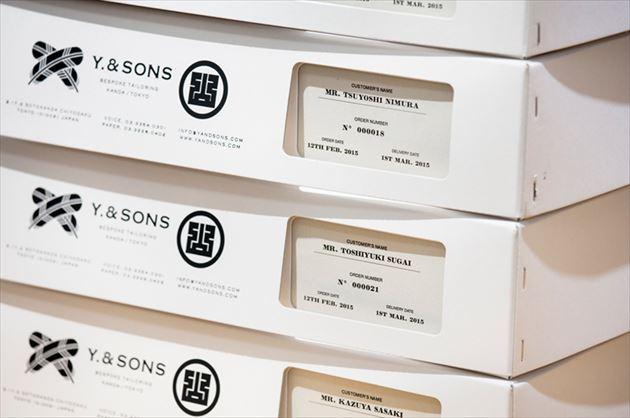 アートディレクター平林奈緒美が手掛けるY.& SONS(ワイ&サンズ)オリジナルボックス