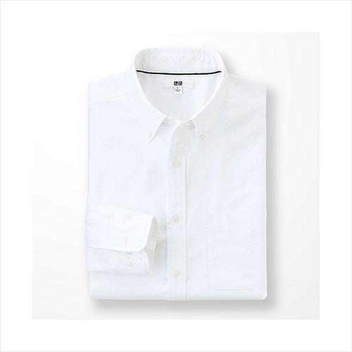 UNIQLOオックスフォードボタンダウンシャツ