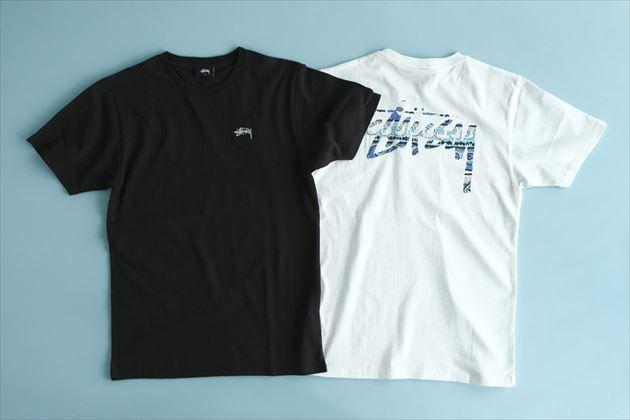 「STUSSY Summer Wave Tom」シリーズクルーネックTシャツ