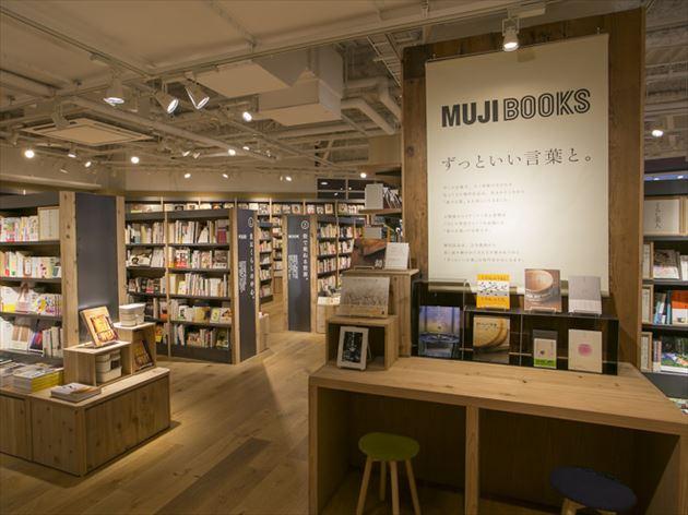 無印良品有楽町店MUJI BOOKSコーナー