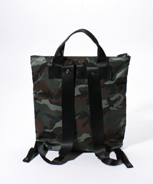 PORTER×LOWERCASE別注コレクション第5弾カモフラヘルメットバッグ画像4