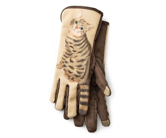 フェリシモ「ネコのしっぽフリフリ手袋」画像3