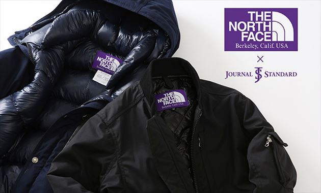 THE NORTH FACE PURPLE LABEL × JOURNAL STANDARD別注アウターイメージ