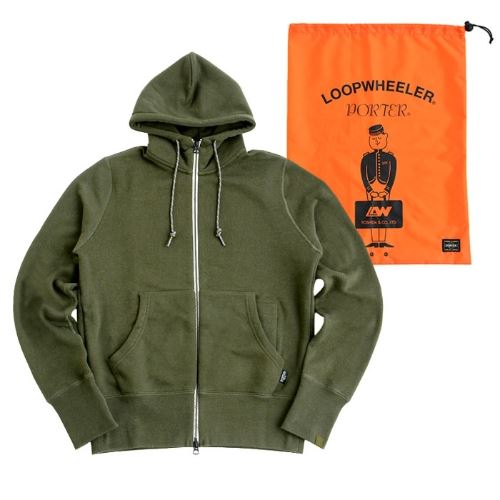 LOOPWHEELERxPORTER Travel Parka画像2