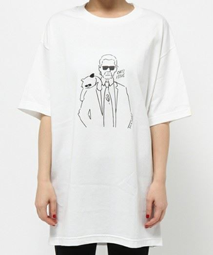 BY Cat's ISSUE プリントTシャツ/Yu Nagaba