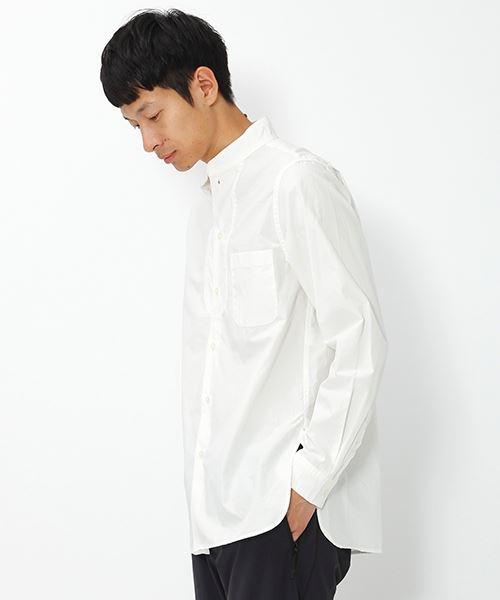NUMERALS(ヌメラルズ)メンズスタンドSヨークシャツ