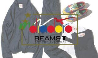 「diadora × BEAMS T」コラボアイテム画像1