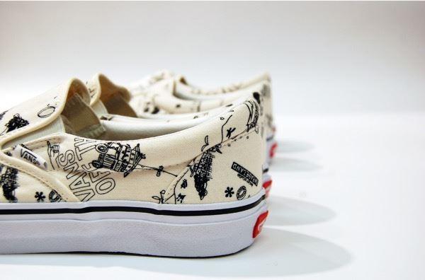 VANS × design studio GARAGELAND 『Kyoto』スニーカー画像4