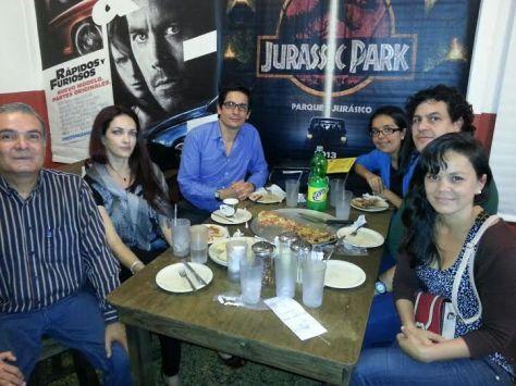Este es el grupo de estudio del 17 de agosto de 2014.