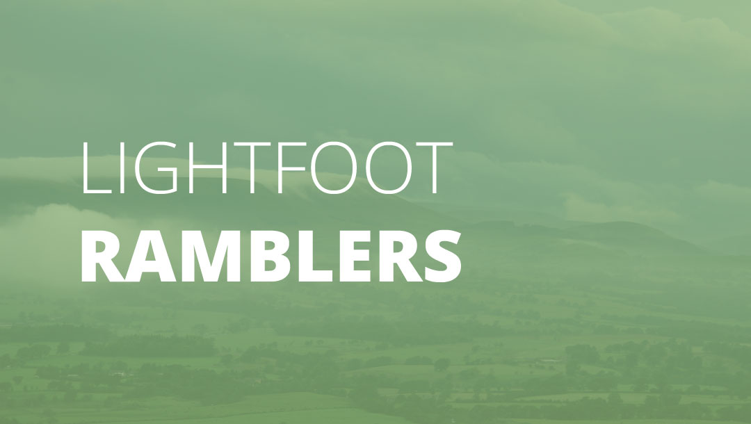 Lightfoot Ramblers | Family Ramble – Nicky Nook