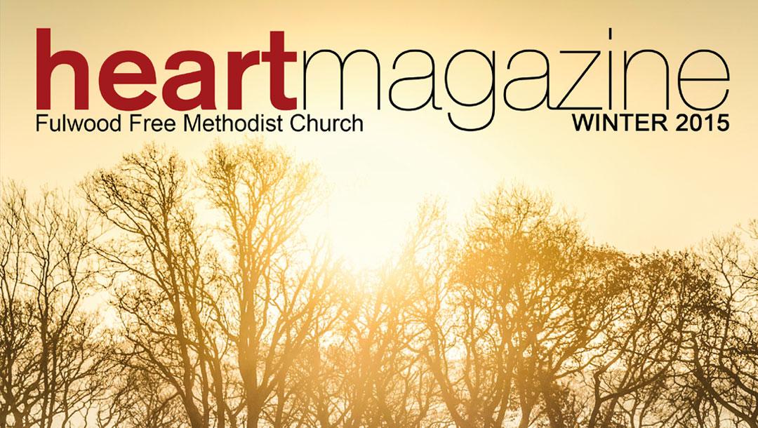 Heart Magazine – Winter 2015 – Being Thankful