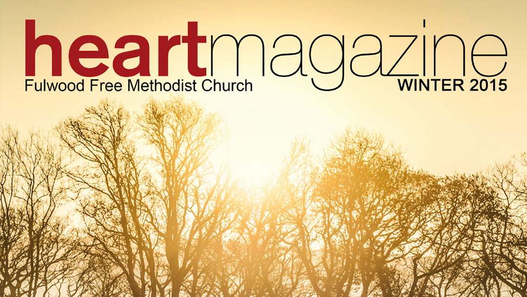 Heart Magazine – Winter 2015 – Being Thankful