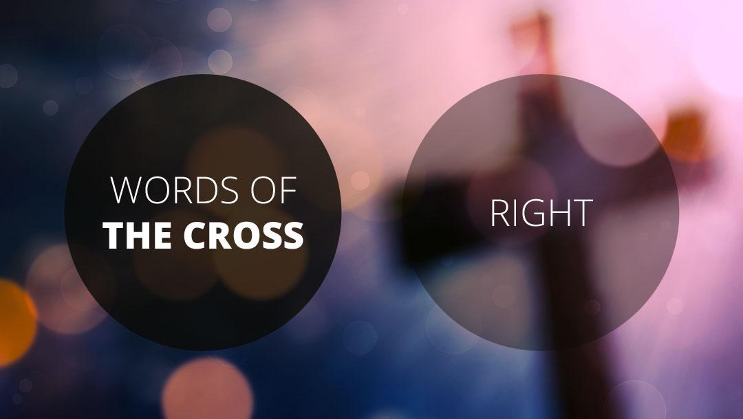 Words of the Cross: Right   2 Corinthians 5:21   Ian Higginbotham
