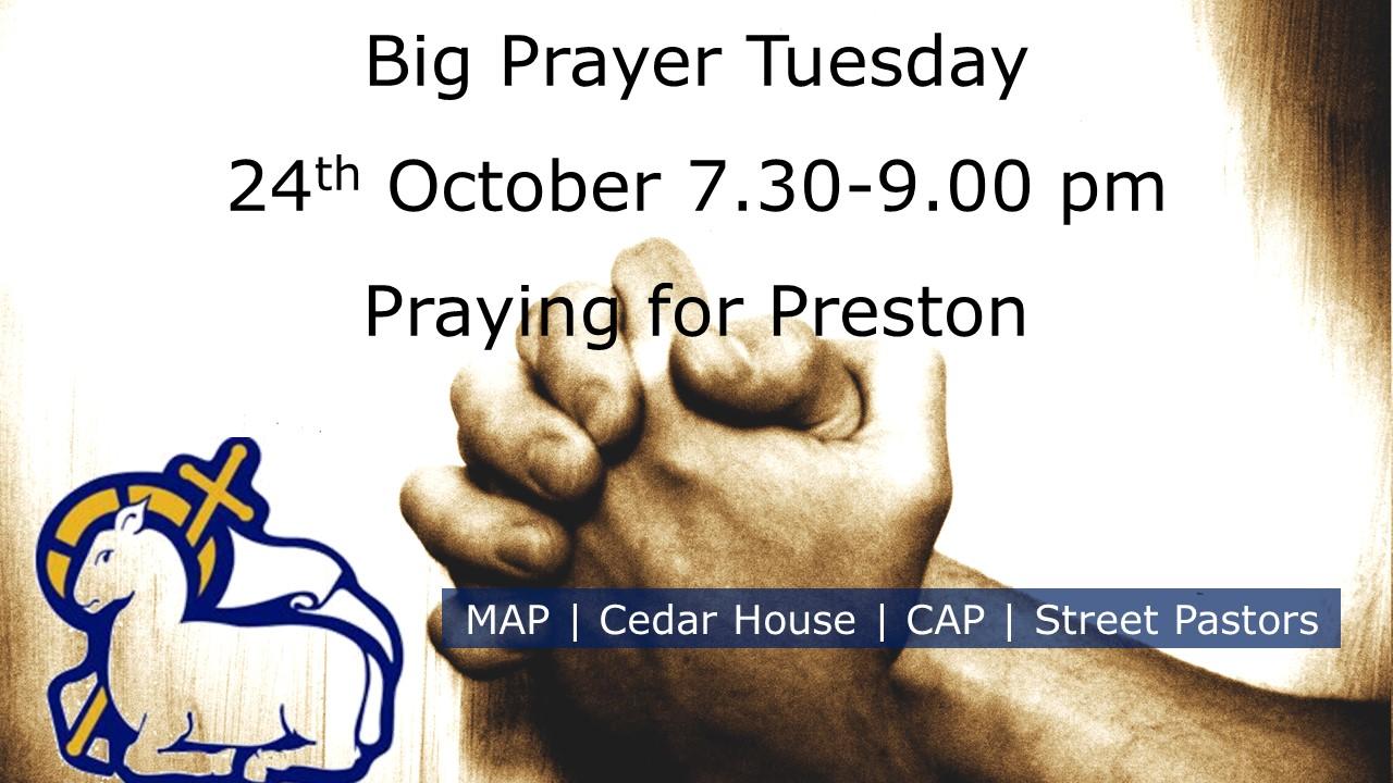 Big Prayer Tuesday | Praying for Preston