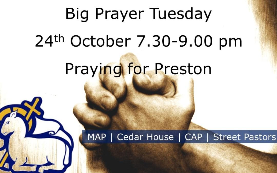 Big Prayer Tuesday   Praying for Preston