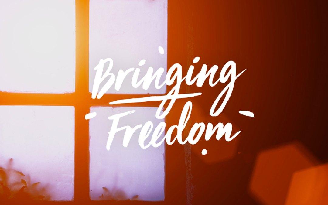 BRINGING FREEDOM | Be the Good News | Luke 4:16-21, Matthew 5:13-16 | Andrew Gardner
